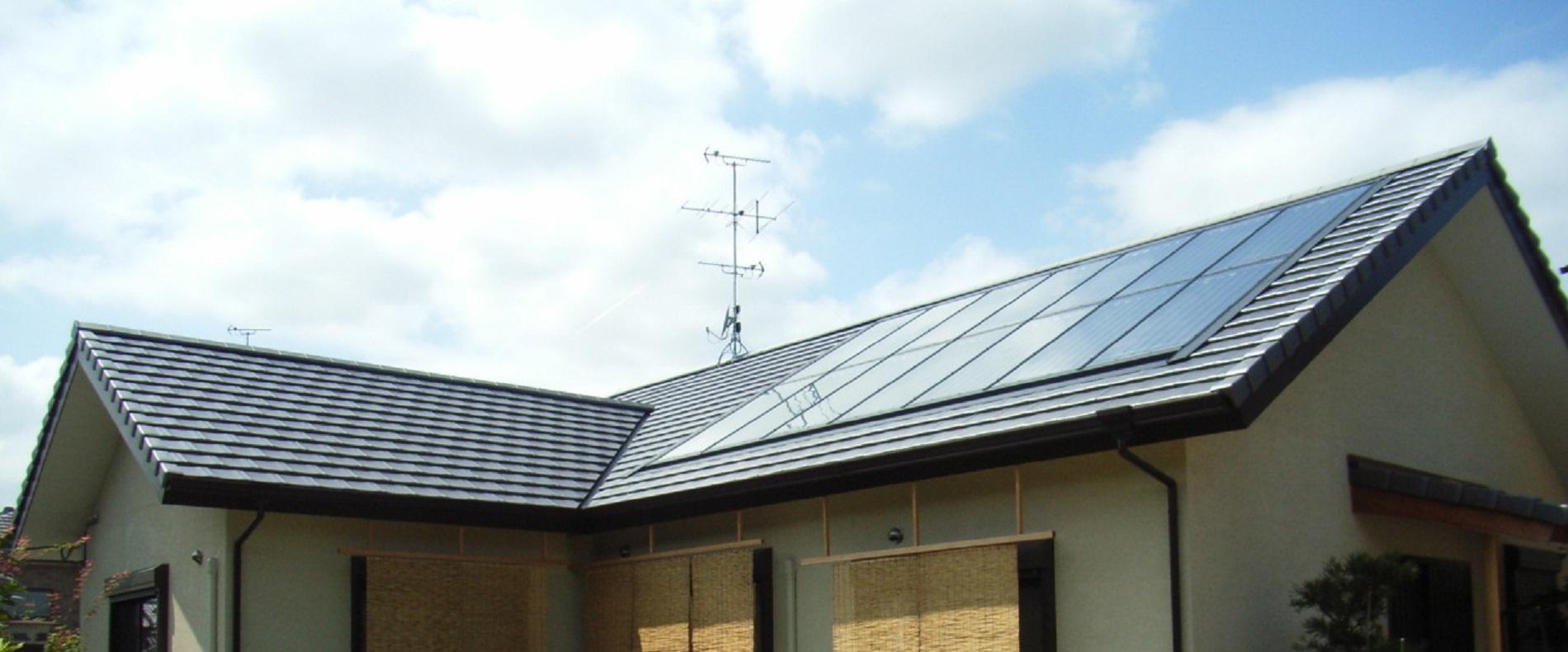 太陽熱利用 ハイブリッドソーラーハウス