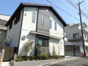 京都市伏見区、ハイブリッドソーラーハウス、長期優良住宅