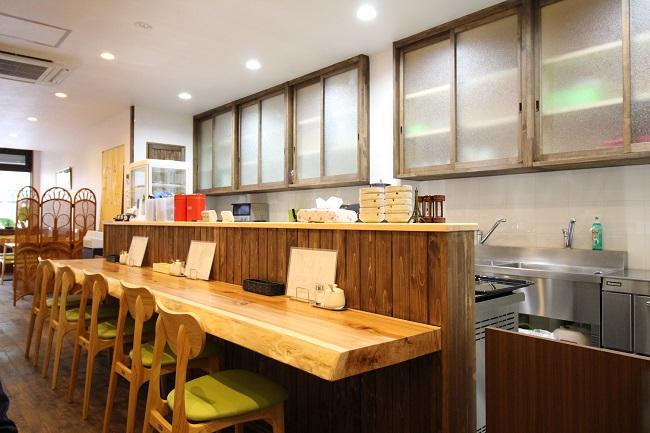 施工事例 林屋コーヒー様喫茶店店内