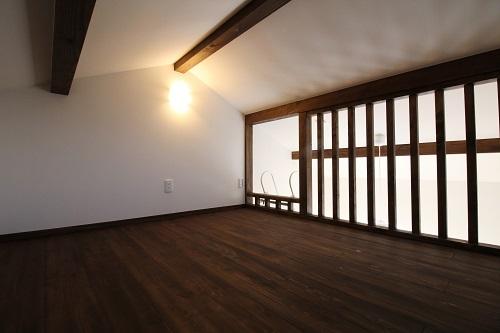 施工事例 京都市伏見区福島太夫南町の家 ロフト
