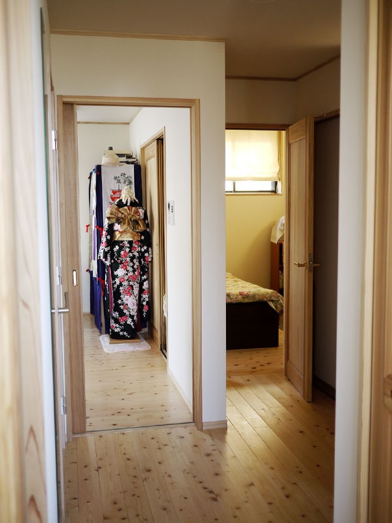京都市伏見区I様邸 1階寝室