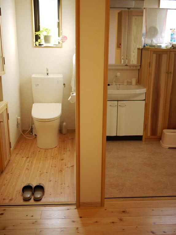 京都市伏見区I様邸 トイレ洗面