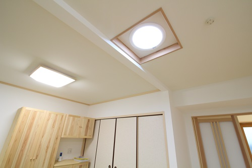 施工事例 リフォーム O様邸 太陽光照明