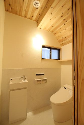 施工事例 完成トイレ写真