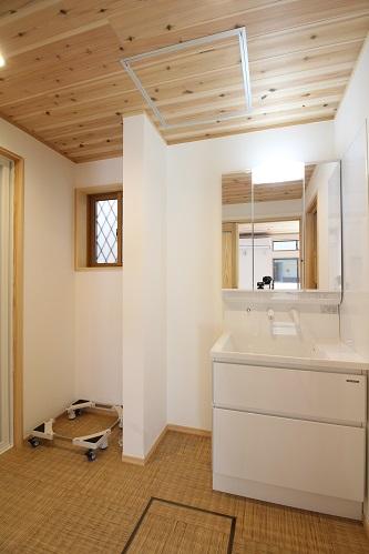 施工事例 完成洗面脱衣室