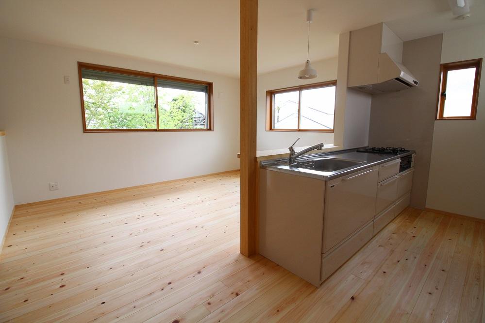 施工事例 木の家 キッチン