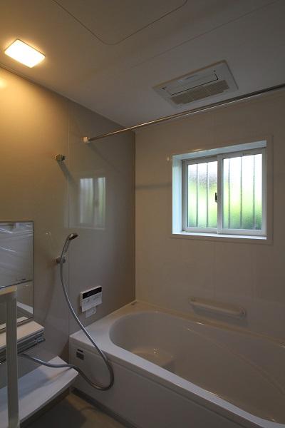 施工事例 木の家 浴室