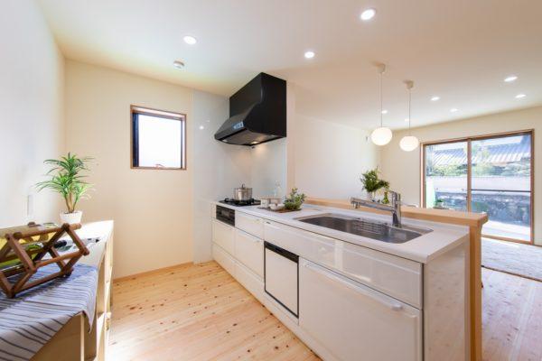 新築 キッチン